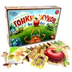 Настольная игра «Гонки жуков»