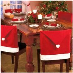 Новогодний чехол на стул «Праздничный»