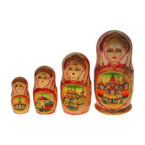 Набор матрёшек «Москва»