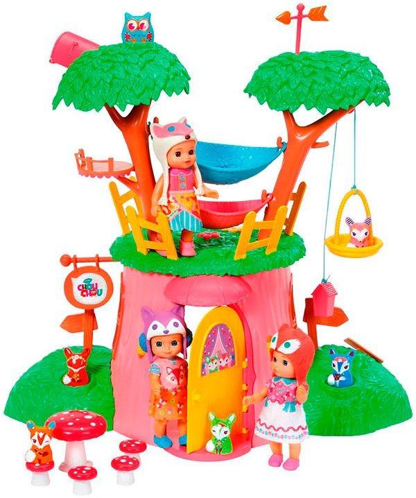 Дерево-домик Лисичка для куклы Chou-Chou, Zapf Creation