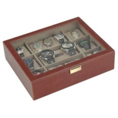 Терракотовая шкатулка с окошком для часов LC Designs Co