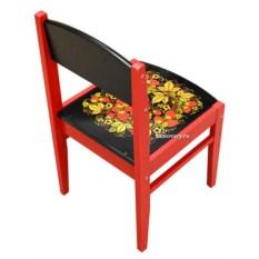 Детский стул с хохломской росписью Кроха
