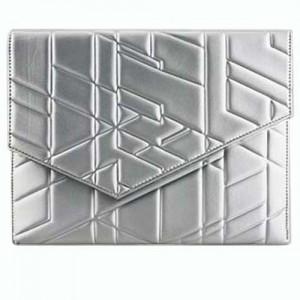 Чехол для iPad Кристаллы (цвет — серебристый)