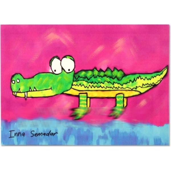 Холст «Крокодил»