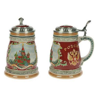 Пивная кружка коллекционная «Россия»