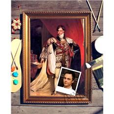 Портрет по фото Британский король