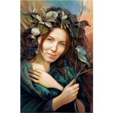 Портрет с фото в художественном образе