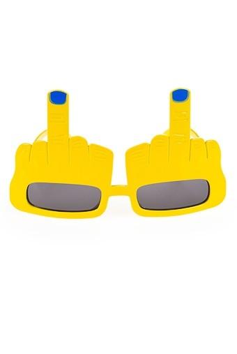 Маскарадные огчки для взрослых Средний палец