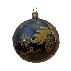 Новогодний шарик с кристаллами Сваровски №2