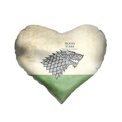Подушка-сердце 3D Игра Престолов. Герб 15