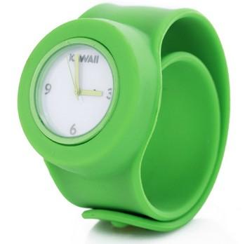 Зеленые слэп-часы Kawaii Fresh
