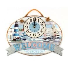 Настенные часы The blue ocean