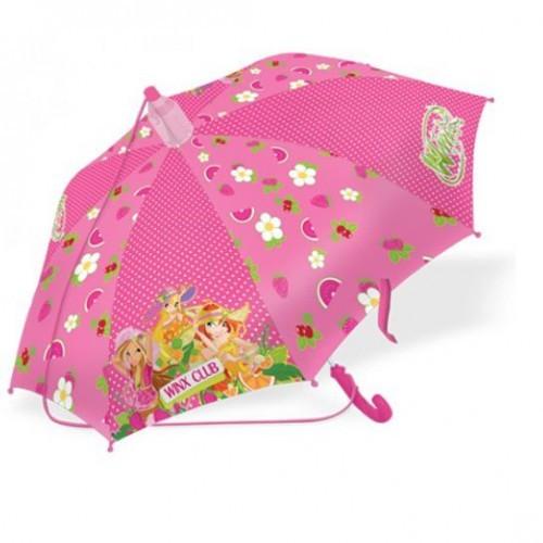 Зонт - трость WINX с пластиковым чехлом Fruit