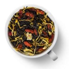 Черный ароматизированный чай Знаки зодиака. Лев