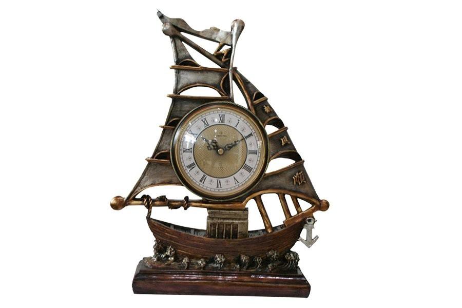 Настольные часы Парусник Lisheng