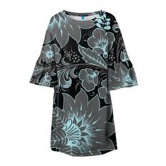 Детское платье с 3D-рсунком Узор