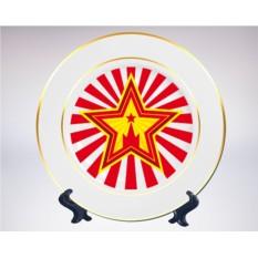 Сувенирная тарелка «Звезда Кремля»