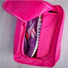 Чехол для для обуви, розовый