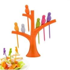 Набор для канапе Птички на дереве