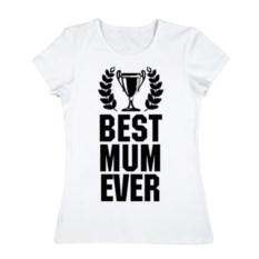 Женская футболка Best mum ever