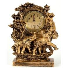 Настольные часы Слоны