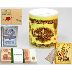 Подарочный набор Копейка рубль бережет