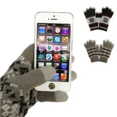 Сенсорные перчатки Зимние узоры