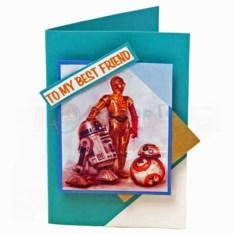Открытка Star Wars Роботы