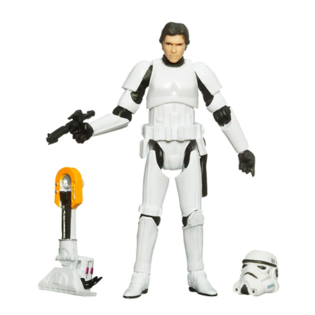 Han in Stormtrooper Disguise