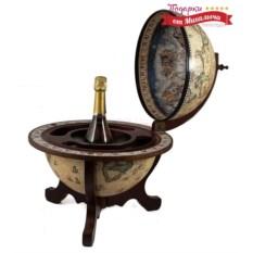 Настольный глобус-бар Сокровища древнего мира