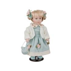 Фарфоровая кукла Лера с мягконабивным туловищем