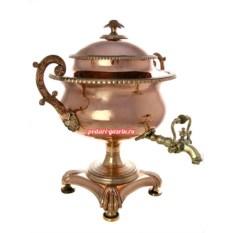 Фонтан для вина 4 литра из меди, произведен в XIX векe