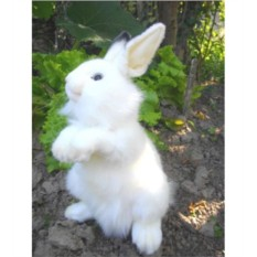 Мягкая игрушка Hansa Белый кролик
