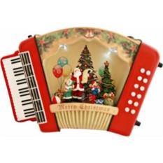 Музыкальная новогодняя композиция Гармонь Mister Christmas
