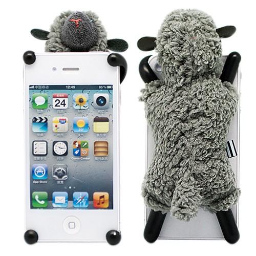 Чехол для iPhone 4\4s Soft sheep Серая овечка