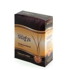 Травяная краска для волос на основе хны (черный кофе)