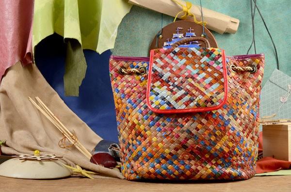 Кожаный рюкзак Осман