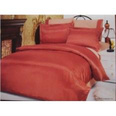 Постельное белье из сатин-жаккарда Le Vele Terracotta