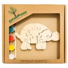 Развивающая игрушка Черепаха с красками