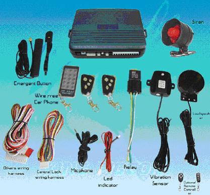 Автомобильная сигнализация Sokol GSM авто