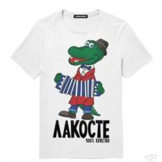 Мужская Футболка «Крокодил Гена»