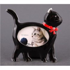 Фоторамка Кошка для фото размером 5 х 8 см