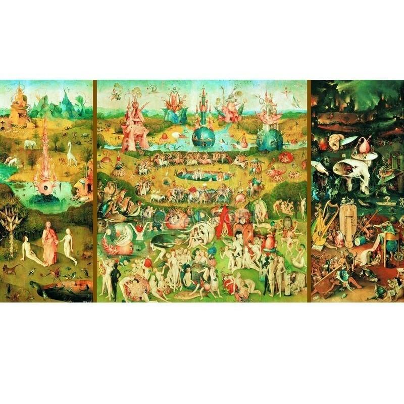 Пазл 9000 деталей «Сад земных удовольствий»