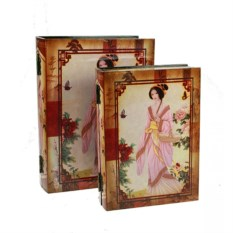 Набор шкатулок-фолиантов Секрет гейши