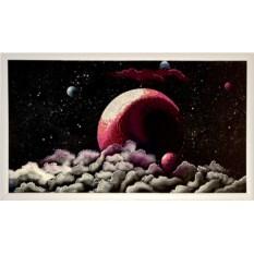 Картина с кристаллами Сваровски Планета-2