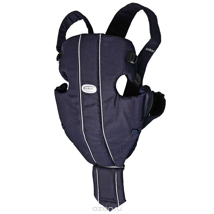 Тёмно-синий рюкзак-кенгуру BabyBjorn Original