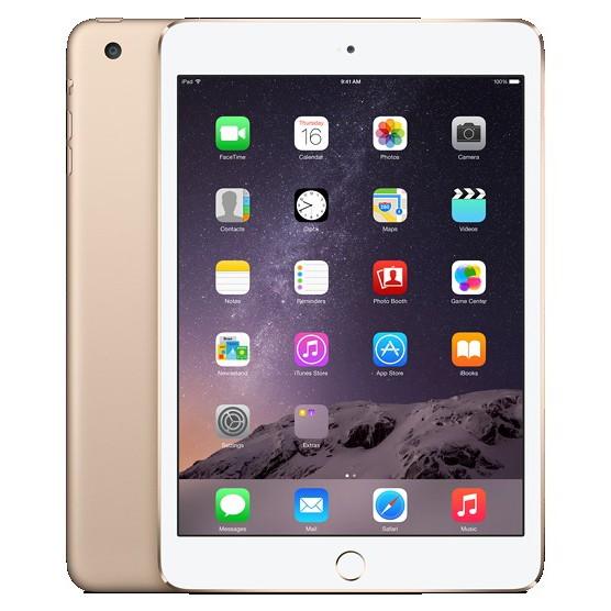Apple iPad mini 3 128gb Wi-Fi + Cellular (Gold)