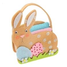 Полотенца в корзинке Пасхальный кролик