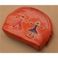Монетница Socotra (Оранжевый, друзья; тип 1; кожа)