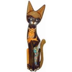 Деревянная статуэтка Кот (100 см)